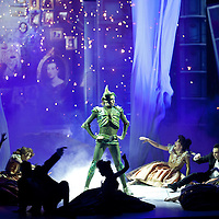Peter Pan - The Never Ending Story World Arena Show. Production images taken at The SSE Hydro, Glasgow. 11th January 2014. Picture Credit. www.drewfarrell.com