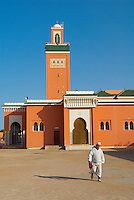 Maroc. Grand Sud. Laayoune. Grande mosquee. Ancien Sahara espagnol. // Morocco. South Morocco. Laayoune. Mosque. Former Spanish Sahara.