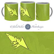 Coffee Mug Showcase 55 - Shop here: https://2-julie-weber.pixels.com/products/roadside-fern-2-abstract-3-julie-weber-coffee-mug.html