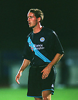 Paul Brooker (Leicester). Brighton & Hove Albion v Leicester City. 4/8/2003. Pre Season friendly match. Credit : Colorsport/Andrew Cowie