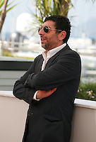Kamel Abdeli at the photo call for the film  Goodbye to Language (Adieu au langage) at the 67th Cannes Film Festival, Wednesday 21st  May 2014, Cannes, France.