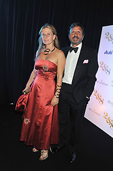 SIR ROCCO & LADY FORTE at a party to celebrate the launch of the new 2&8 club at Morton's Berkeley Square, London on 27th September 2012.