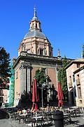 Real Iglesia San Andrés Apóstol church, La Latina barrio, Madrid city centre, Spain