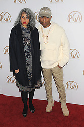 Arrivals at the Producer's Guild Awards in Los Angeles, California. 28 Jan 2017 Pictured: Pharrell Williams. Photo credit: ZUMA Press / MEGA TheMegaAgency.com +1 888 505 6342