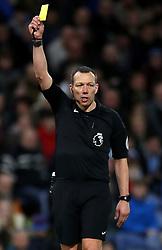 Match referee Kevin Friend
