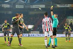 Luuk de Jong of PSV, referee Bas Kuipers during the Dutch Eredivisie match between Willem II Tilburg and PSV Eindhoven at Koning Willem II stadium on March 10, 2018 in Tilburg, The Netherlands