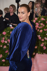 Irina Shayk attends The 2019 Met Gala Celebrating Camp: Notes On Fashion at The Metropolitan Museum of Art on May 06, 2019 in New York City. Photo by Lionel Hahn/ABACAPRESS.COM