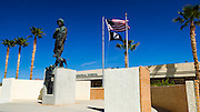 Statue of General Patton, General Patton Memorial Museum, Indio, California USA