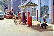 Gas station 1970s Colorado