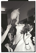 ELIZABETH PULFORD, Cambridge University charity Ball. Guildhall, Cambridge. 15 March 1985.