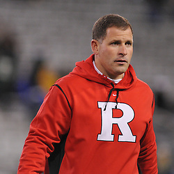 Oct 23, 2009; West Point, N.Y., USA; Rutgers head coach Greg Schiano during Rutgers' 27 - 10 victory over Army at Michie Stadium.