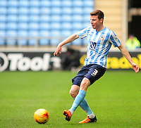Coventry City's Chris Stokes<br /> <br /> Photographer Andrew Vaughan/CameraSport<br /> <br /> Football - The Football League Sky Bet League One - Coventry City v Fleetwood Town - Saturday 27th February 2016 - Ricoh Stadium - Coventry   <br /> <br /> © CameraSport - 43 Linden Ave. Countesthorpe. Leicester. England. LE8 5PG - Tel: +44 (0) 116 277 4147 - admin@camerasport.com - www.camerasport.com
