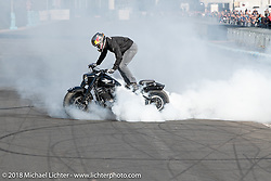 Intermot International Motorcycle Fair. Cologne, Germany. Saturday October 6, 2018. Photography ©2018 Michael Lichter.