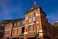 Beaumont Hotel, Main Street, Ouray, Colorado USA