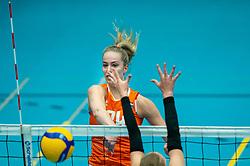 Laura de Zwart of Netherlands in action during the Women's friendly match between Belgium and Netherlands at Topsporthal Beveren on may 09, 2021 in Beveren, Belgium (Photo by RHF Agency/Ronald Hoogendoorn)
