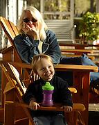 Girl with grandmother. Photo/Andrew Shurtleff