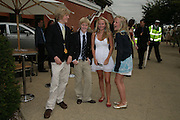Ben Alun-Jones, Ed Alun-Jones, Clem Bunting and Minna Bunting. Glorious Goodwood. 2 August 2007.  -DO NOT ARCHIVE-© Copyright Photograph by Dafydd Jones. 248 Clapham Rd. London SW9 0PZ. Tel 0207 820 0771. www.dafjones.com.