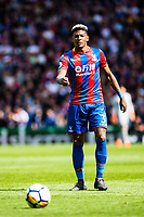 LONDON, ENGLAND - MAY 13: Patrick van Aanholt (3) of Crystal Palaceduring the Premier League match between Crystal Palace and West Bromwich Albion at Selhurst Park on May 13, 2018 in London, England. MB Media