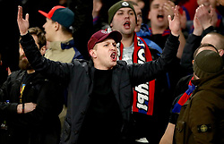 CSKA Moscow fans in the stands