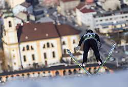 03.01.2014, Bergisel Schanze, Innsbruck, AUT, FIS Ski Sprung Weltcup, 62. Vierschanzentournee, Training, im Bild Vincent Descombes Sevoie (FRA) // Vincent Descombes Sevoie (FRA) during practice Jump of 62nd Four Hills Tournament of FIS Ski Jumping World Cup at the Bergisel Schanze, Innsbruck, <br /> Austria on 2014/01/03. EXPA Pictures © 2014, PhotoCredit: EXPA/ JFK