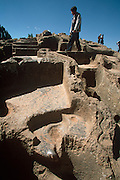 "PERU, CUZCO, INCA CULTURE Qenko""Qengo"" Inca shrine"
