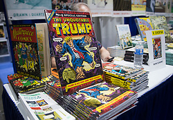 July 20, 2017 - San Diego, California, U.S.Artist Robert Sikoryak brought his new comic ''The Unquotable Trump'' to Comic-Con International at the San Diego Convention Center. (Credit Image: © Kevin Sullivan/The Orange County Register via ZUMA Wire)