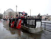 mass closure on London Underground to slow coronavirus spread<br /> 19 Mar 2020 photo by Roger Alarcon