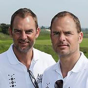 NLD/Zandvoort/20120521 - Donmasters 2012 golftoernooi, Frank de Boer en Ronald de Boer