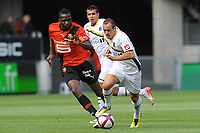 FOOTBALL - FRIENDLY GAMES 2011/2012 - STADE RENNAIS v FC SOCHAUX - 20/07/2011 - PHOTO PASCAL ALLEE / DPPI - SEBASTIEN ROUDET (FCS) / TONGO DOUMBIA (REN)