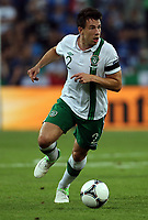 Football - European Championships 2012 - Italy vs Ireland<br /> <br /> Sean St Ledger in action for Ireland at the Municipal Stadaium, Poznan