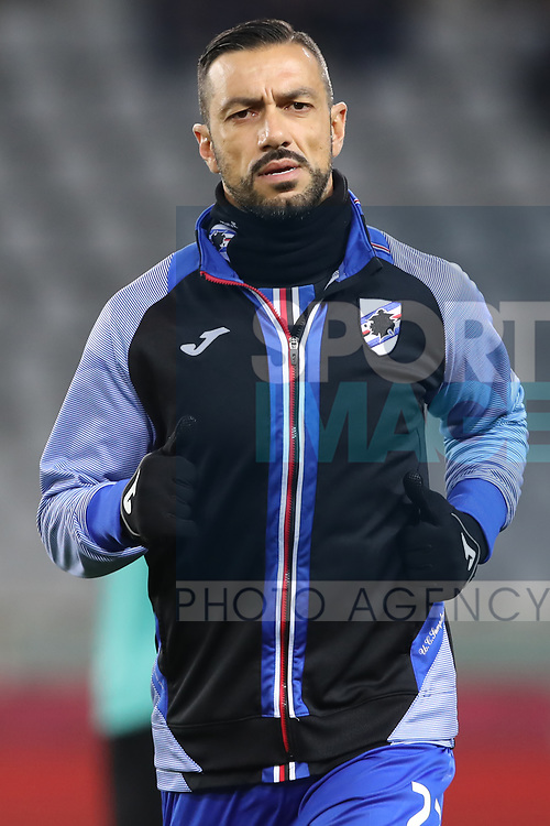 Fabio Quagliarella of Sampdoria during the Serie A match at Stadio Grande Torino, Turin. Picture date: 8th February 2020. Picture credit should read: Jonathan Moscrop/Sportimage