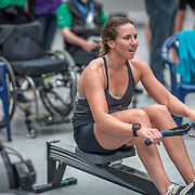 Ashlee Rowe Rowing NZ team Race #19  01:45pm <br /> <br /> www.rowingcelebration.com Competing on Concept 2 ergometers at the 2018 NZ Indoor Rowing Championships. Avanti Drome, Cambridge,  Saturday 24 November 2018 © Copyright photo Steve McArthur / @RowingCelebration