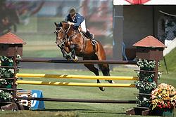 Hurel Jerome, (FRA), Ohm de Ponthual<br /> Telus Cup<br /> Spruce Meadows Masters - Calgary 2015<br /> © Hippo Foto - Dirk Caremans<br /> 09/09/15