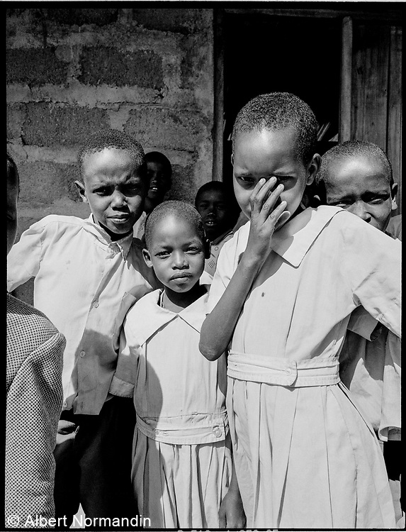 Samburu School Students, Kenya, July, 2002