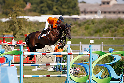 Hoogenraat Kim, NED, Caesar<br /> Young Riders European Championships Jumping <br /> Samorin 2017© Hippo Foto - Dirk Caremans<br /> 13/08/2017