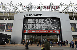 A general view of the iPro Stadium before the Sky Bet Championship match between Derby County v Middlesbrough - Mandatory byline: Dougie Allward/JMP - 07966386802 - 18/08/2015 - FOOTBALL - iPro Stadium -Derby,England - Derby County v Middlesbrough - Sky Bet Championship