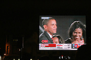 Atmosphere at the Pre-Election party hosted by Congressman Charles Rangel held on the grounds of The Adam Clayton Powell State Office Building in Harlem on Election night, November 4, 2008..Democratic Presidential Candidate Barack Obama is declared victor and President-Elect as the 44th U.S. President making him the first African-American President in its 225 year history.