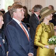LUX/Luxemburg/20180523 - Staatsbezoek Luxemburg dag 1,  Koning Willem Alexander, Koningin Maxima en Groothertog Henri