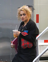 November 9, 2016 - New York, New York, United States - Actress Helena Bonham Carter was on the Brooklyn set of the new movie 'Ocean's Eight' on November 9 2016 in New York City  (Credit Image: © Zelig Shaul/Ace Pictures via ZUMA Press)