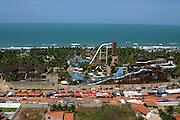 Fortaleza_CE, Brasil...Vista panoramica do Beach Park no litoral de Fortaleza...Panoramic view of Beach Park in Fortaleza coast...FOTO: BRUNO MAGALHAES /  NITRO