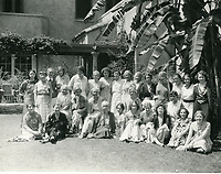1931 Ladies pose at the Hollywood Studio Club on Lodi Pl.