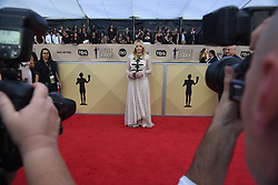January 20, 2018 - Los Angeles, California, U.S. - ABBY CORNISH during red carpet arrivals for the 24th Annual Screen Actors Guild Awards, held at The Shrine Expo Hall. (Credit Image: © Kevin Sullivan via ZUMA Wire)