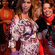 NLD/Amsterdam/20081208 - Premiere Wit Licht, zwangere Marielle Bastiaansen