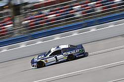 April 27, 2018 - Talladega, Alabama, United States of America - Jamie McMurray (1) takes to the track to practice for the GEICO 500 at Talladega Superspeedway in Talladega, Alabama. (Credit Image: © Justin R. Noe Asp Inc/ASP via ZUMA Wire)