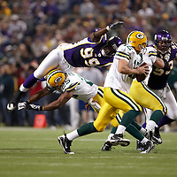 2008 Minnesota Vikings vs Green Bay Packers at the Metrodome in Minneapolis, Minn., on Sunday, November 10, 2008.