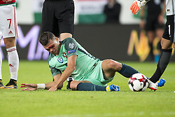 September 3, 2017 - Budapest, Hungary - Pepe of Portugal pictured after foul during the FIFA World Cup 2018 Qualifying Round match between Hungary and Portugal at Groupama Arena in Budapest, Hungary on September 3, 2017  (Credit Image: © Andrew Surma/NurPhoto via ZUMA Press)