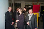 TONY CHAMBERS, Editor of Wallpaper: Tony Chambers and architect Annabelle Selldorf host drinks to celebrate the collaboration between the architect and three of Savile Row's finest: Hardy Amies, Spencer hart and Richard James. Hauser and Wirth Gallery. ( Current show Isa Genzken. ) savile Row. London. 9 January 2012.