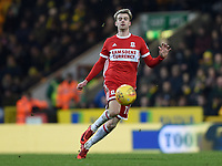 Middlesbrough's Patrick Bamford <br /> <br /> Photographer Jon Hobley/CameraSport<br /> <br /> The EFL Sky Bet Championship - Norwich City v Middlesbrough - Saturday 3rd February 2018 - Carrow Road - Norwich<br /> <br /> World Copyright © 2018 CameraSport. All rights reserved. 43 Linden Ave. Countesthorpe. Leicester. England. LE8 5PG - Tel: +44 (0) 116 277 4147 - admin@camerasport.com - www.camerasport.comMiddlesbrough's Patrick Bamford <br /> <br /> Photographer Jon Hobley/CameraSport<br /> <br /> The EFL Sky Bet Championship - Norwich City v Middlesbrough - Saturday 3rd February 2018 - Carrow Road - Norwich<br /> <br /> World Copyright © 2018 CameraSport. All rights reserved. 43 Linden Ave. Countesthorpe. Leicester. England. LE8 5PG - Tel: +44 (0) 116 277 4147 - admin@camerasport.com - www.camerasport.com