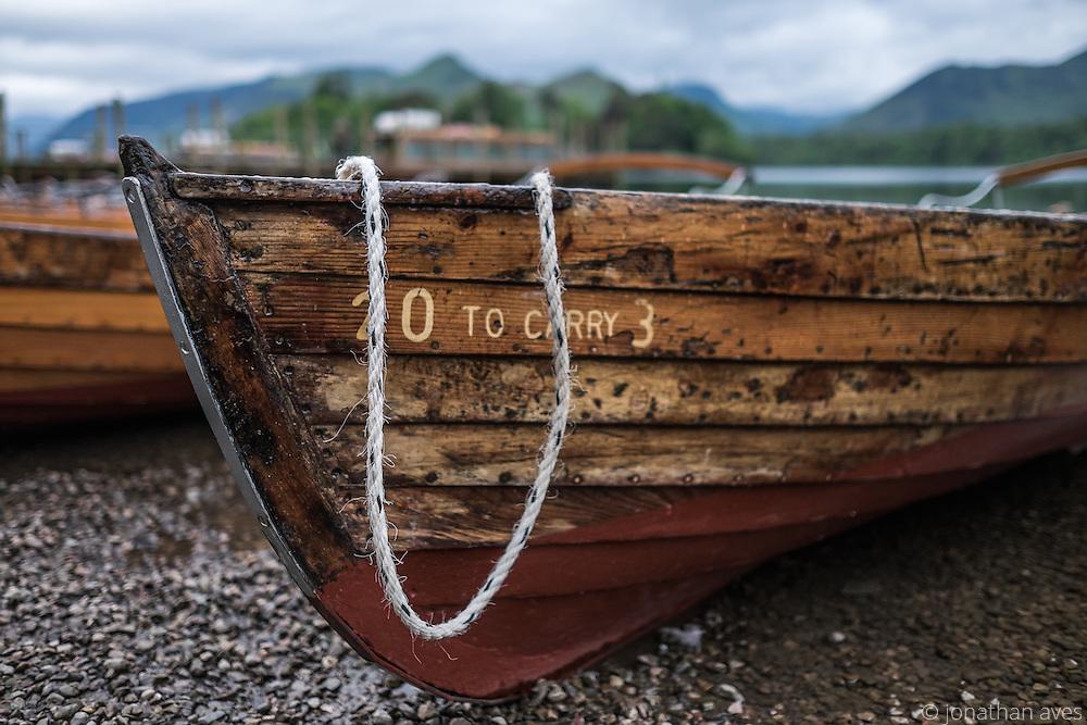 Derwentwater Boats, Lake_District, Cumbria, UK