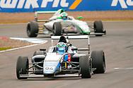 Sebastian Alvarez(MEX) Double R Racing during the FIA Formula 4 British Championship at Knockhill Racing Circuit, Dunfermline, Scotland on 15 September 2019.